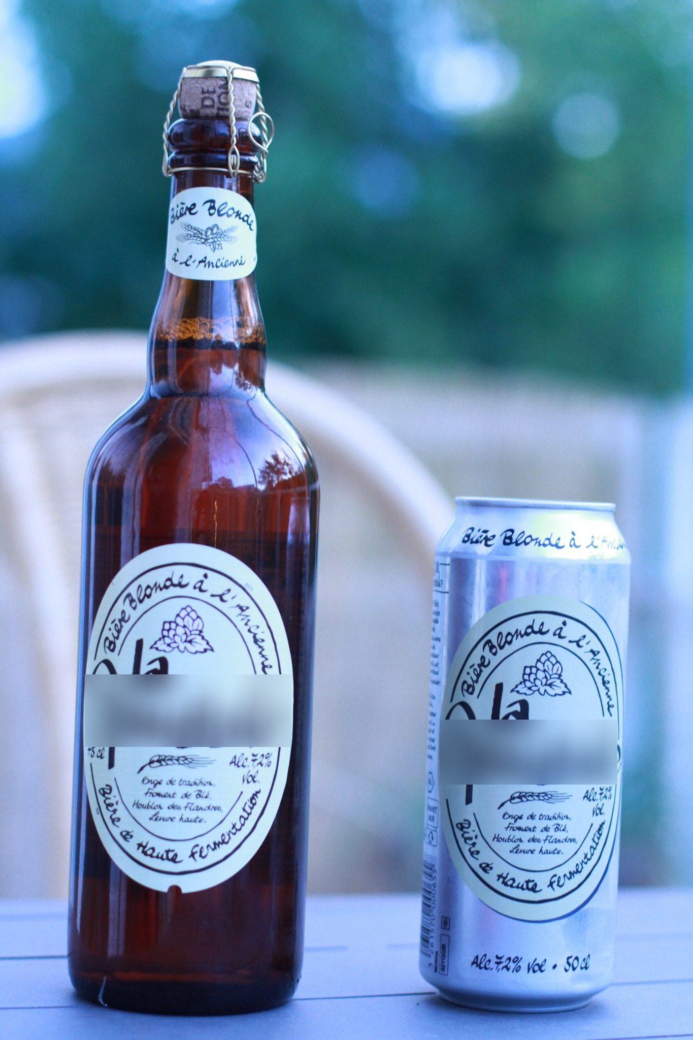 bière - canette ou bouteille