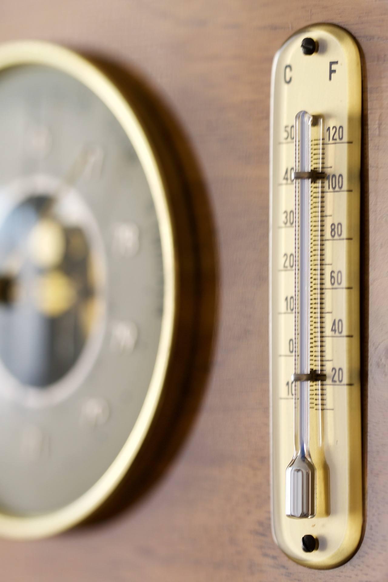 climatisation - thermomètre