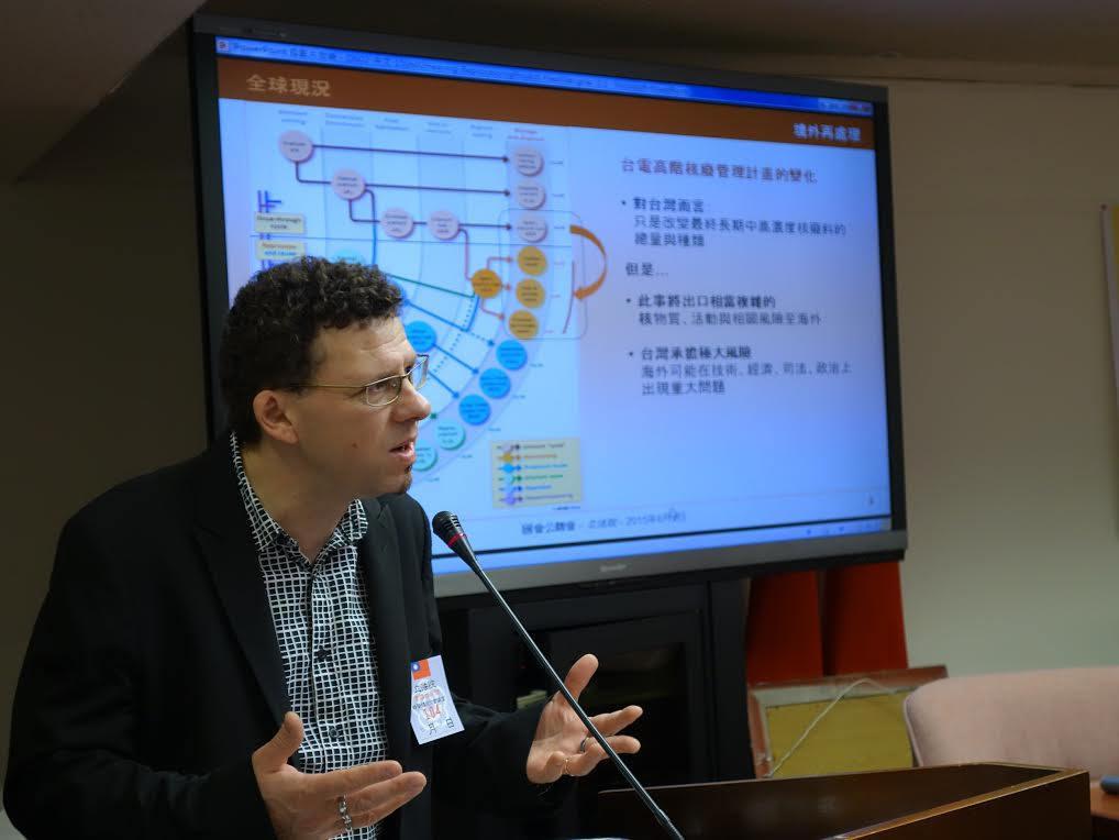 Yves Marignac - Taiwan
