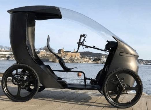VAE - une voiture électrique à pédales, le Vélure