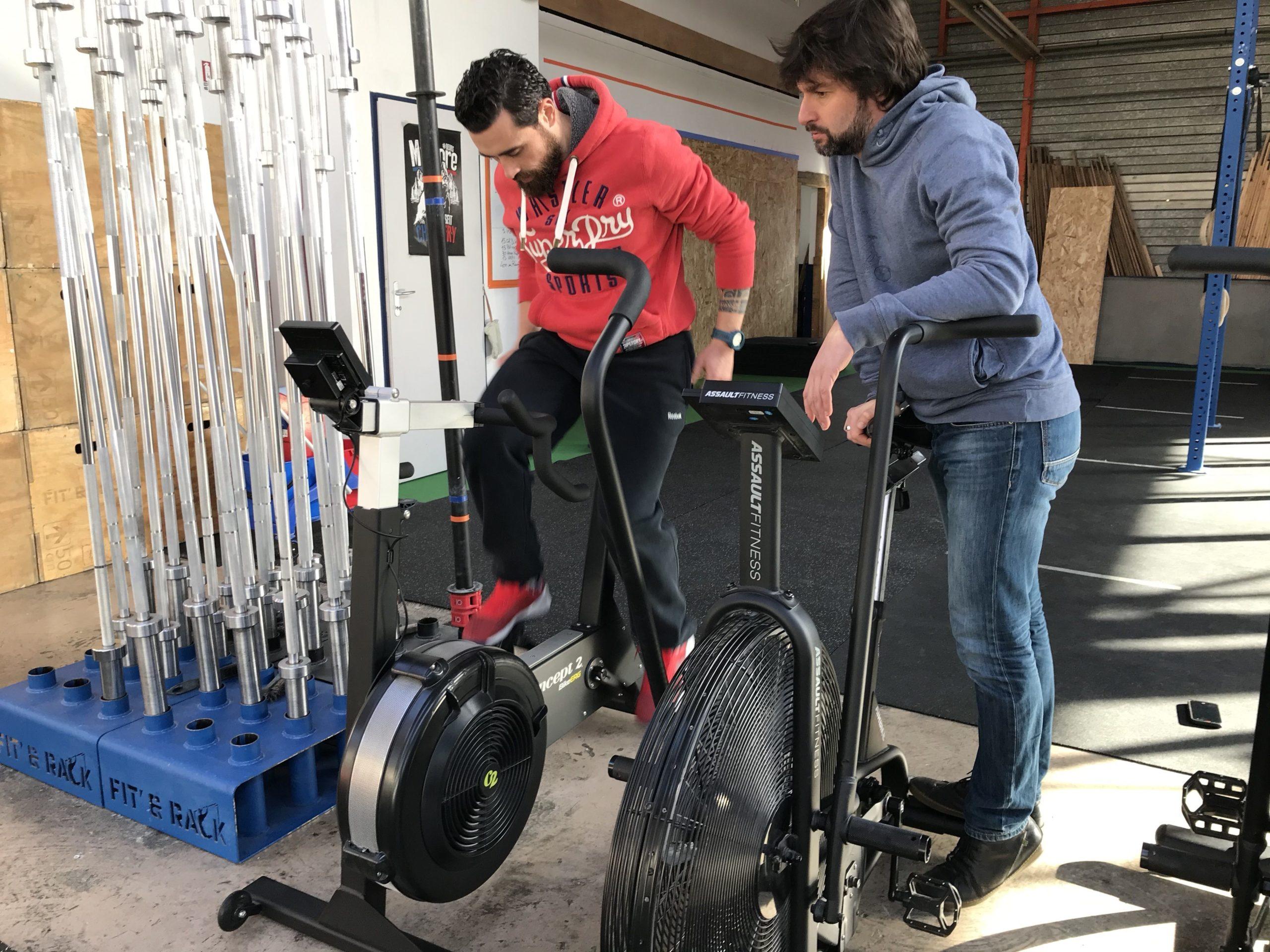 VAE - mesure de puissance sur un vélo
