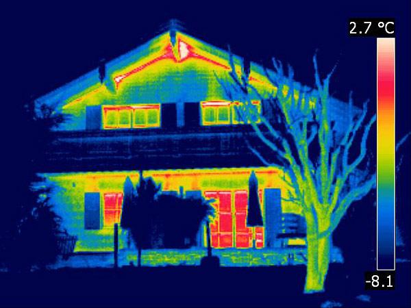 simulation thermique dynamique - infrarouge
