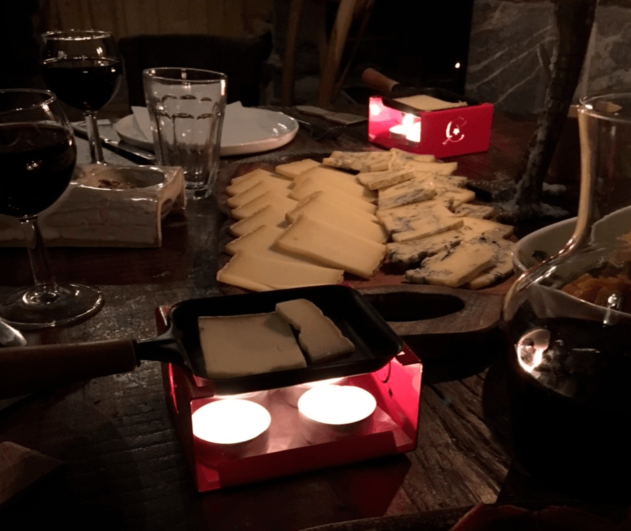 raclette - bougie